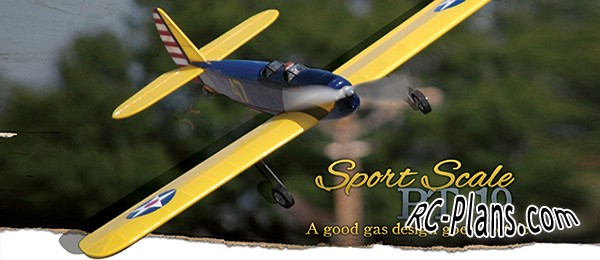 free plans rc airplane PT-19