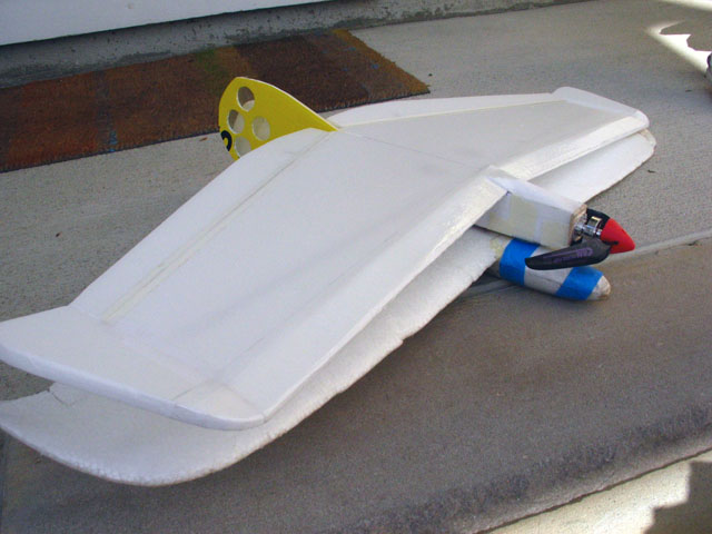 Thumb Wing Glider (Alula) — RC Plans
