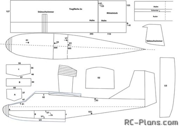 How To Do RC hydroplane from foam. — RC Plans