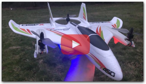 XK X450 VTOL RTF Unboxing and Test Flight Review