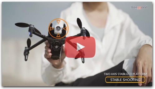 Dragonfly KK13 GPS WiFi FPV with 4K HD Camera 2-Axis Gimbal Brushless