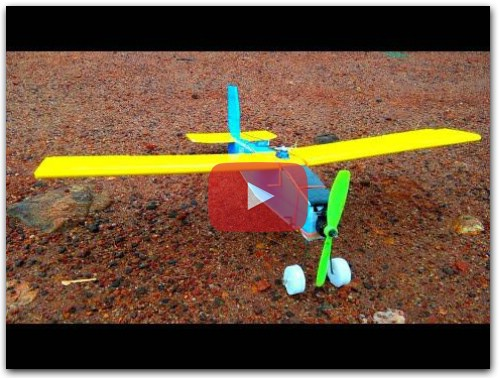 DIY How to Build a Rc Plane at Home