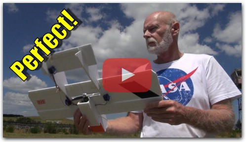 DIY RC Plane - it flys perfectly!