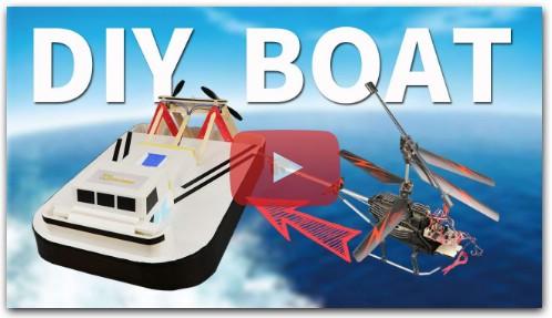 How to Build RC Airboat