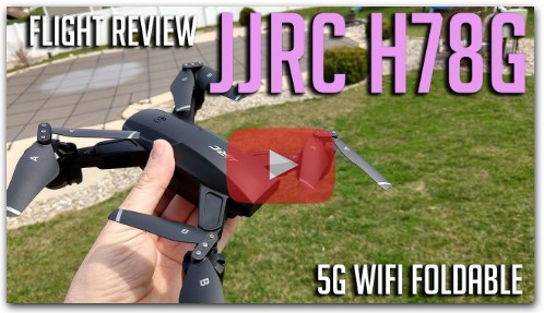 JJRC H78G 5G FPV Foldable GPS Drone Flight Review