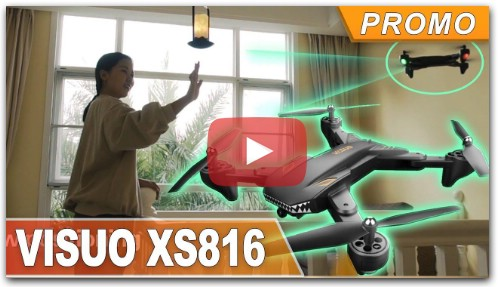 Review VISUO XS816 RC Drone Quadcopter