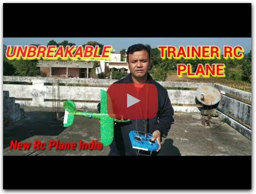 Unbreakable Trainer RC Plane
