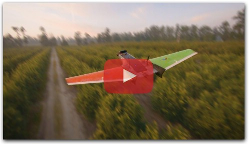 FPV Drone Dances With RC Airplane