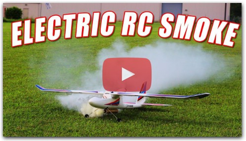 Best RC Plane Smoke on Electric RC Airplane