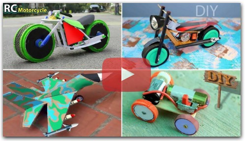 diy rc 4 toys. how to make rc car.