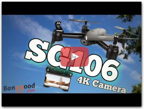 SG106 - Best Budget 4K Drone - Review