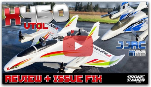 MAJOR ISSUE + FIX ‼️ XK X450 VTOL & JJRC M02 VTOL