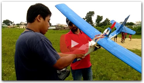 how to make rc plane with thermocol