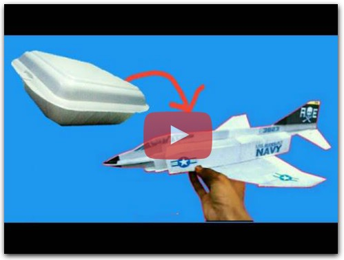 how to make RC plane F4 Phantom