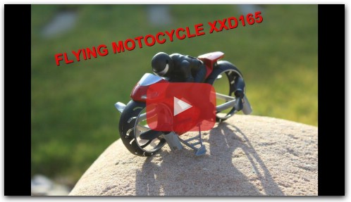 XXD165 FLYING MOTORCYCLE MOTO VOLANTE REVIEW ,TEST