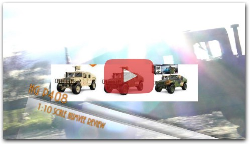 HG P408 1:10 RC HUMVEE Review Deutsch