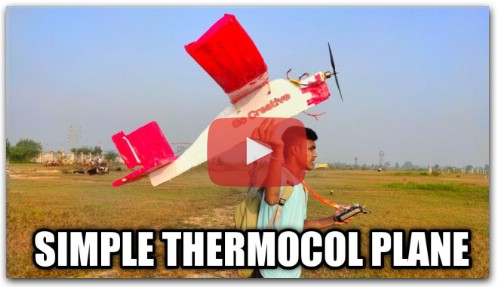How to Make A Rc Plane With Thermocol