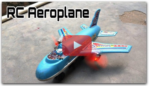How to make rc aeroplane DIY