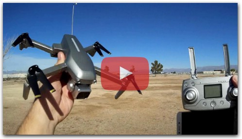 L109S EASOUL Matavish 3 Brushless GPS Camera Drone Flight Test Review