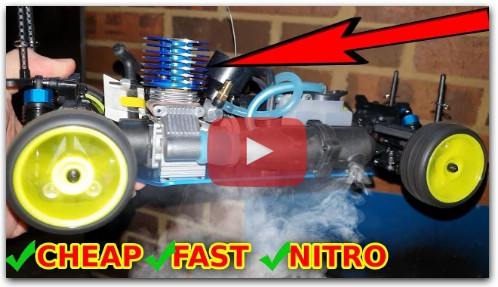 FAST Cheap Nitro RC Car