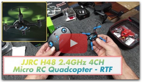 JJRC H48 MINI - Review & Flight