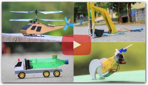 4 Amazing DIY TOYs | Awesome RC Ideas