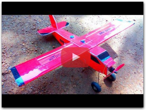 DIY Rc Air Dropping Cargo Plane at Home