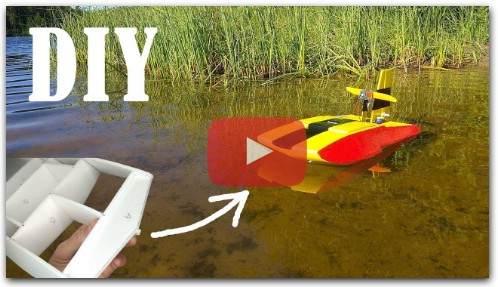How to make RC Air Boat at home DIY