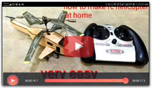 How to make RC helicopter at home from cardboard diy rc heli home made rc heli/the king of rc toy