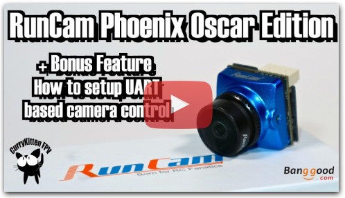 The RunCam Phoenix Oscar edition FPV Camera