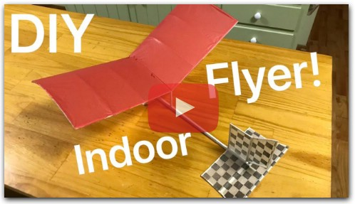 A Simple DIY Indoor RC Airplane - Build Summary