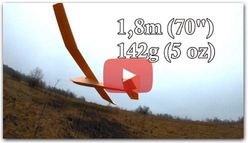 New Slow flyer RC Plane