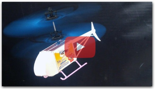 How to make helicopter - DIY RC Helicopter Matchbox flying