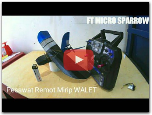 FT micro sparrow - how to make rc plane