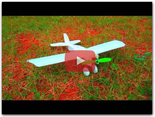 DIY How to Make Mini Scout RC Plane at Home