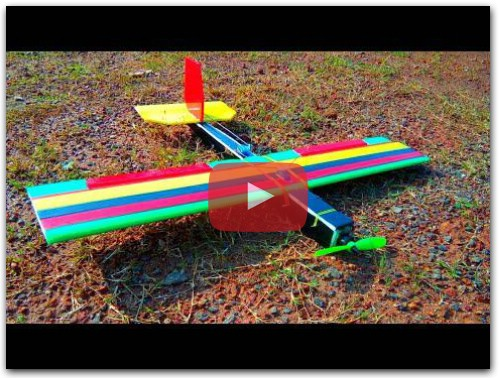DIY RC Plane For Beginners at Home