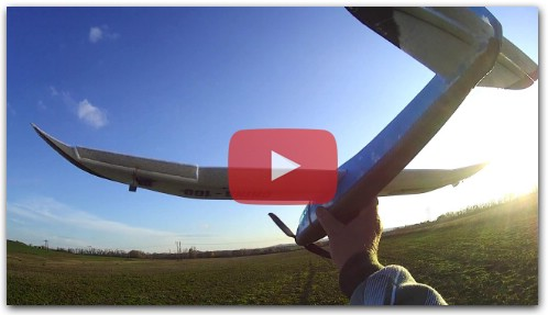 RC Glider Stovka all 100cm Wingspan Hand Throwing Plane