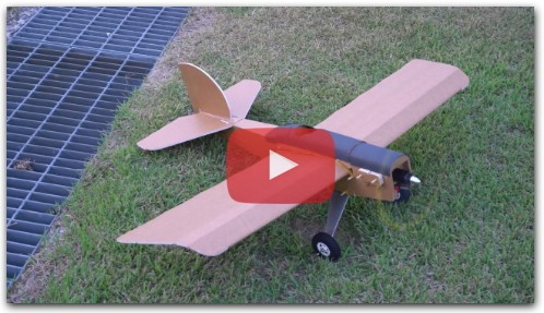 Flite Test SCOUT Maiden Pizza plane Arrow RC airplane DIY