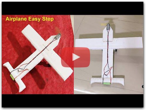 How To Make Twin Motor RC Model Airplane