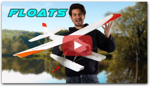 Making DIY Pontoons / floats for an RC Airplane