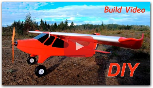 How to make PZL Wilga 2000 Draco RC Plane DIY