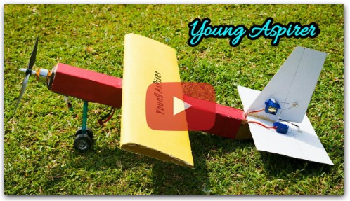 How to Make RC Airplane from Cardboard rc airplane — RC Plans