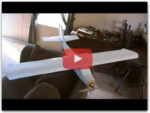 How to build a RC plane for $10 (part 1)
