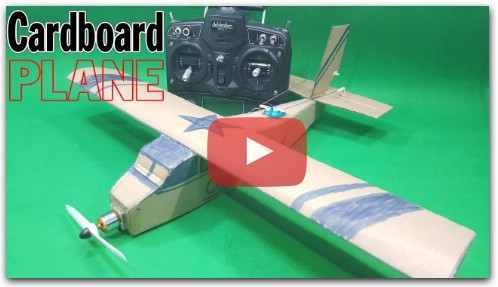 How To Make Cardboard Plane
