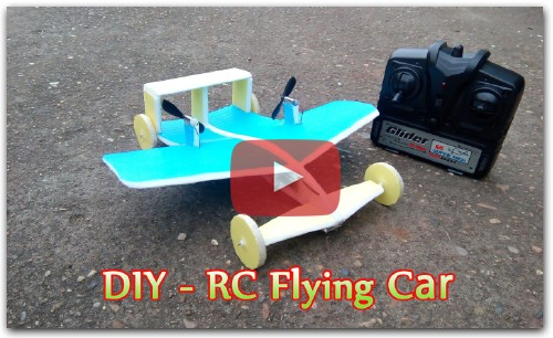 How To make a RC Flying Car Mini