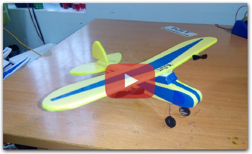 [Tutorial] DIY - How To Make Airplane J3 Cub MINI RC