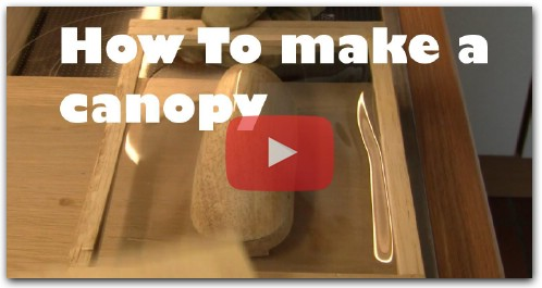 How To make a canopy