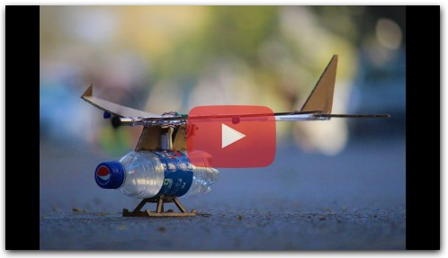 How To Make a Airplane - Bottle Airplane