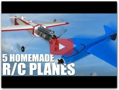5 Incredible Homemade RC Planes | Flite Test