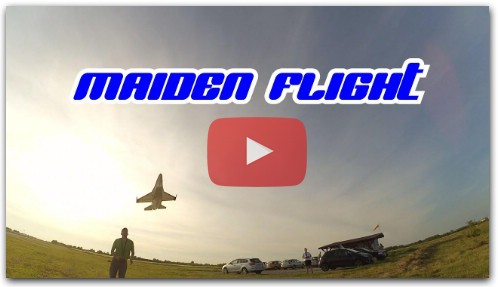How to make RC Airplane - Part 4 - Maiden flight / DIY